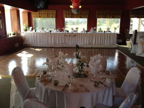 Valley View Lounge Dance Floor and Head Table